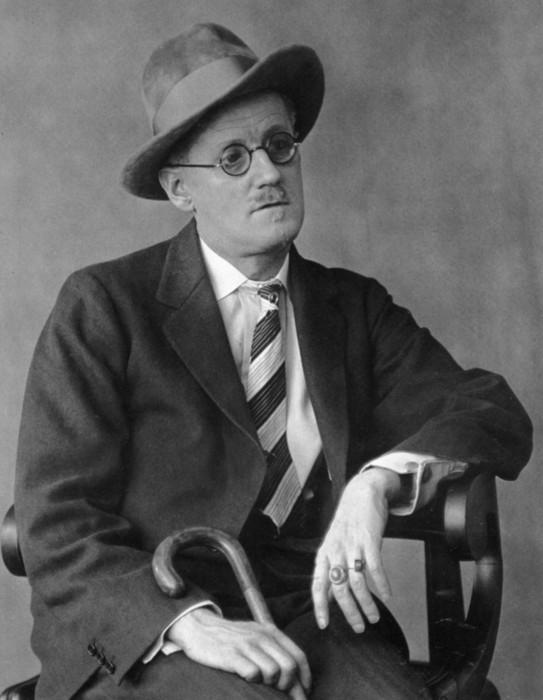 James Joyce, par Berenice Abbot