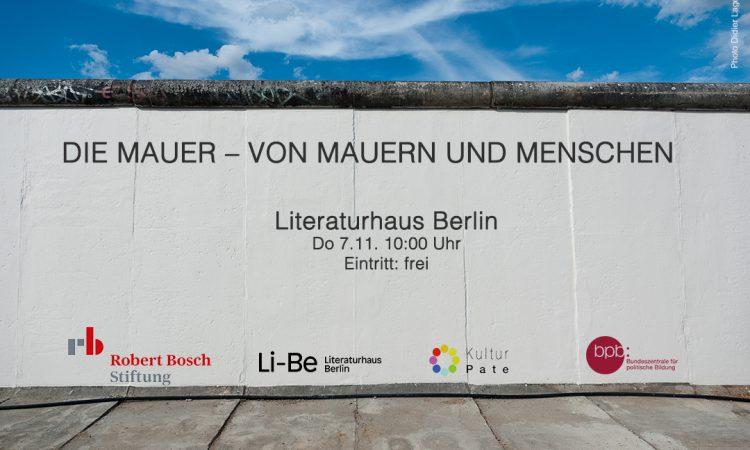 DIE MAUER–Von-Mauern-und-Menschen - Photo Didier Laget